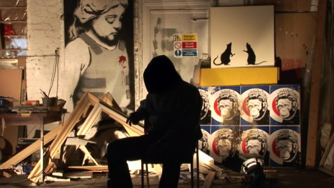 Banksy: The Guerilla Artist
