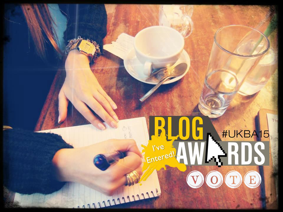 UK BLOG AWARDS 2015 #UKBA2015