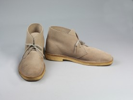Title: Desert boots, light brown suede Artist: Clarks Date: 1994 Credit line: © Victoria and Albert Museum, London